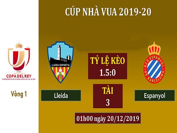 Nhận định Lleida vs Espanyol, 01h00 ngày 20/12/2019