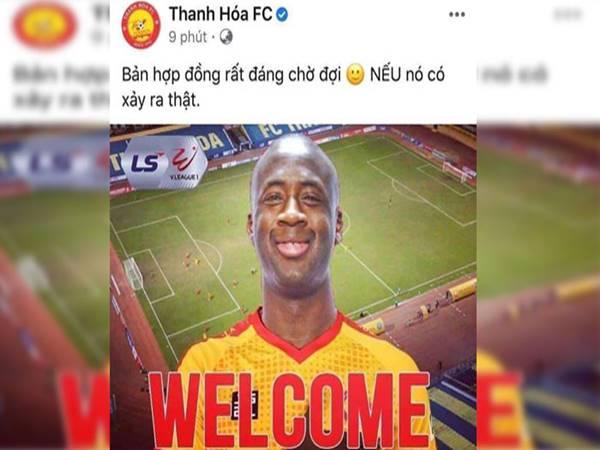 Điểm tin bóng đá 17-7: Thực hư Yaya Toure đầu quân cho Thanh Hóa