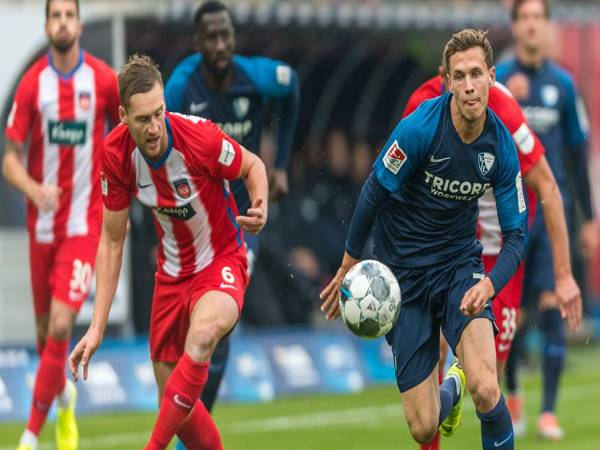 Nhận định trận đấu Bochum vs Heidenheimer (00h30 ngày 19/12)