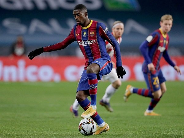 Tin bóng đá tối 4/6: Dembele chưa gia hạn với Barca