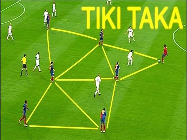 Tiki taka là gì? Có những điều gì cần biết về chiến thuật Tiki taka